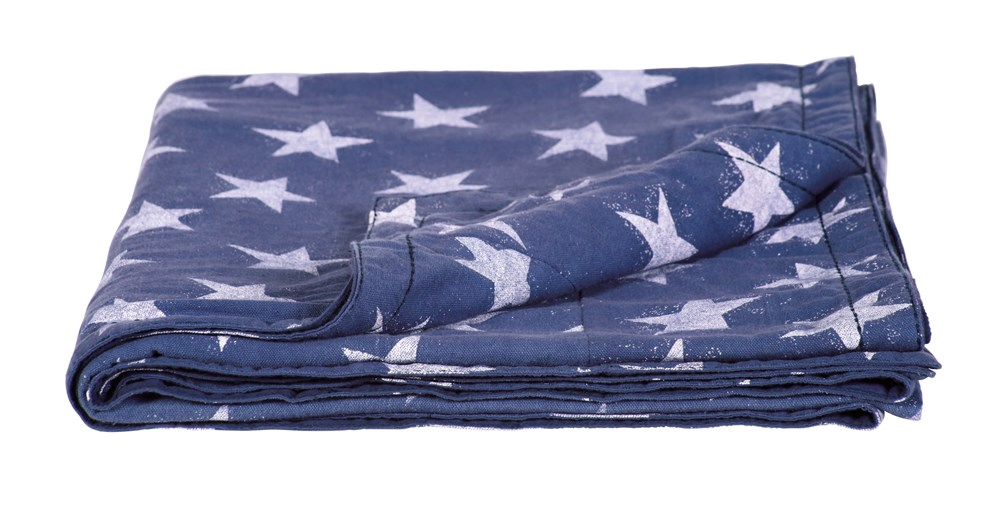 Washed Star Throw